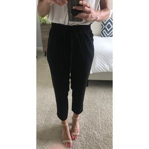 Zara black dress pants - size S